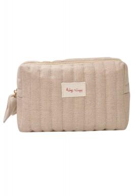 Beit RAMLA make up bag -Delta linen