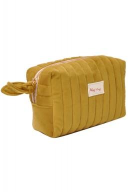 Beit RAMLA make up bag -Delta mustard
