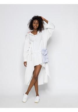 White Hooded Dress