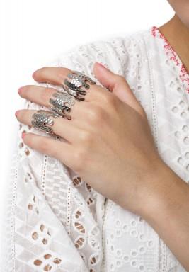 Corallo XL Ring(White Gold)