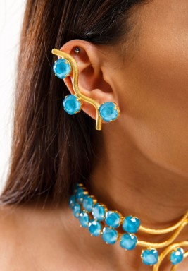 Dancing Waves II Earrings- Pre order