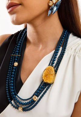 Golden Moon Necklace - Pre order