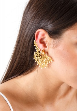 Coral D'or Earrings -Pre order