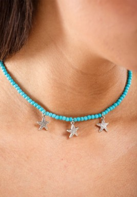 Rocks Blue 2019 Star I Choker