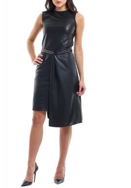 Sleek Dress Charcoal