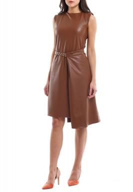 Sleek Dress Clay