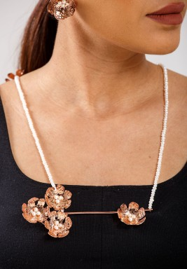 Cherry Blossoms necklace -Pre Order