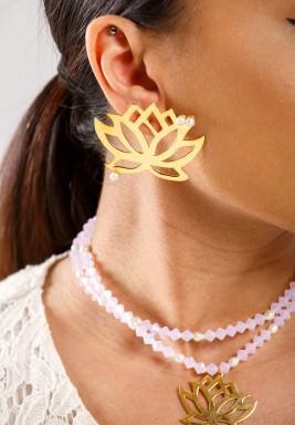 Lotus Flower Earrings Pre order