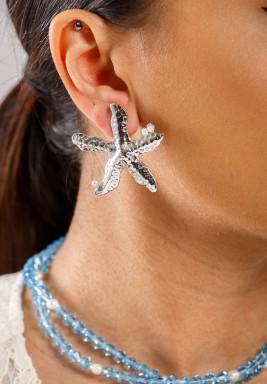 Silver Star Earrings Pre order