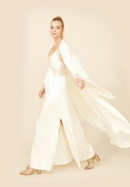White And Gold Robe set