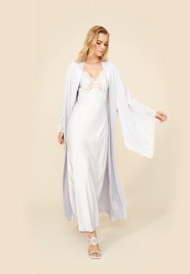 Snowdrop - Rayon Kimono Robe Set