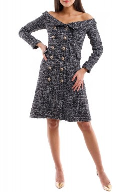 Blazer Tweed Dress