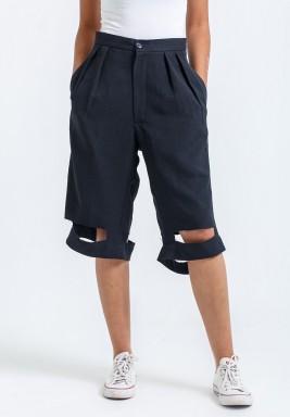 Tutout Black Bermuda Shorts