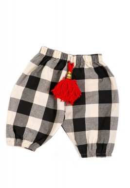 Checkered Shirwal for Kids