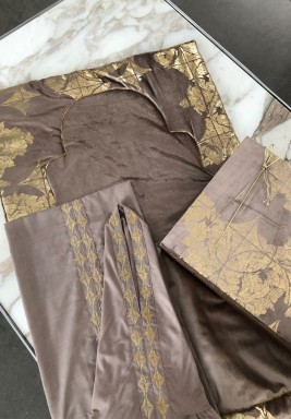 Velvet prayer set (brown)