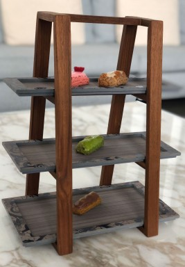 Afternoon tea stand- navy