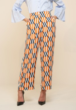 Kanika Goyal Label - Block grid pants