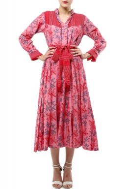 Jodi -Coral dress