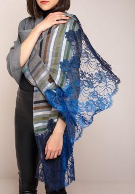 Janavi Ombre lace scarf