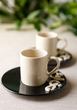 Set of 2 espresso cups