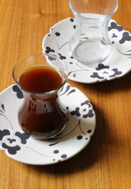 Blue & White Set Of 6 Tea Istikana's