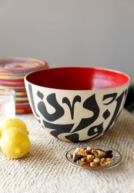 Red Salad Bowl