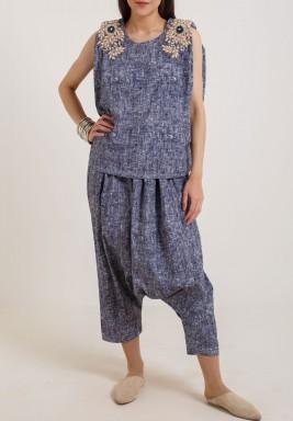 Jeans Sherwal Set