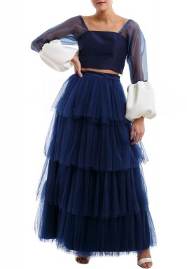 Navy Cloud Dress