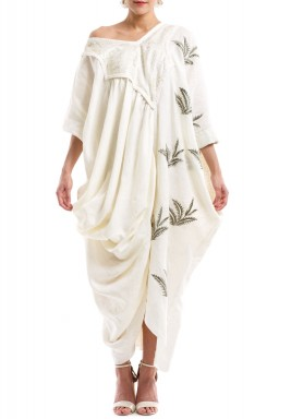 Palm leaves kaftan