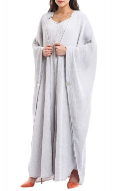 Ayana grey jumpsuit set