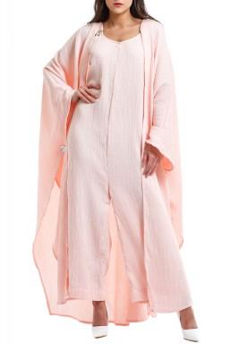 Ayana Pink Jumpsuit Set