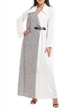 Black & White Blazer Kaftan