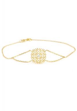 Diamond dot bracelet