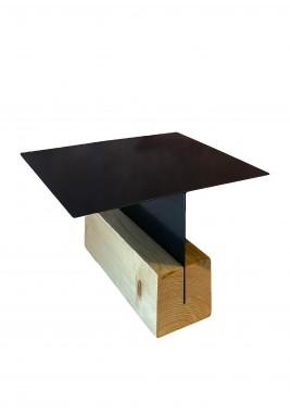 Black T-Ray Platter