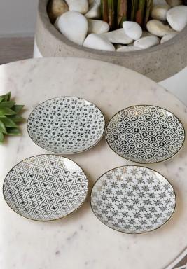 Kashmir Plates Set/4