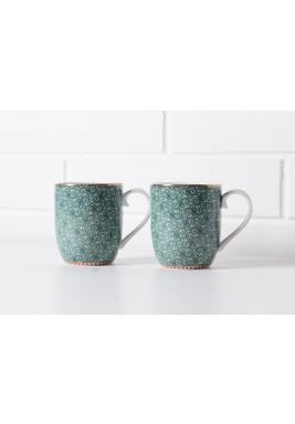 Green Small Mug set/2