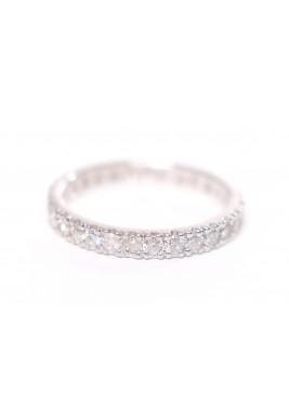 OH! RING! (White Gold- White Diamonds)