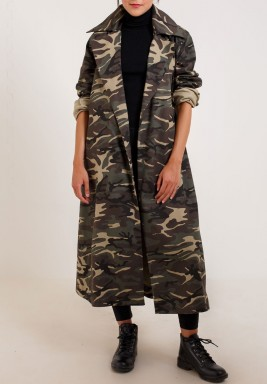 Oversized Army Coat