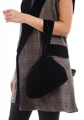 Velvet O bag