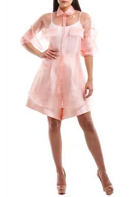 Pink collar set
