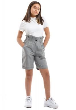 Grey kids shorts