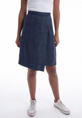 Checkered shorts