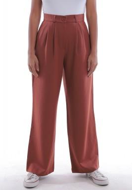 Burnt Orange Suit Pants