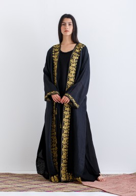 Long Abaya with embroidery