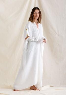 Button Shoulder Kaftan / Dress