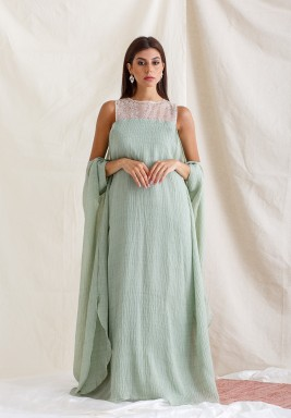 Tiffany Sequined Top Kaftan