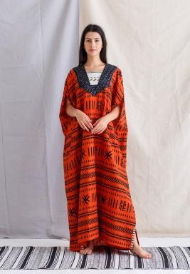African Amber Kaftan