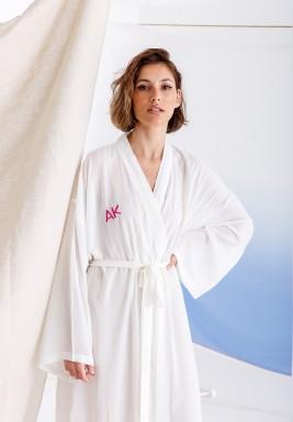 Customized White Robe