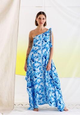 Lulu Printed Beach Dress