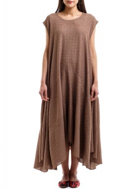 Easy Peasy Dress brown